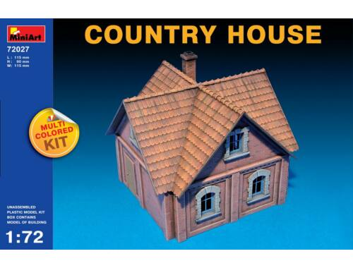 Miniart Country House 1:72 (72027)