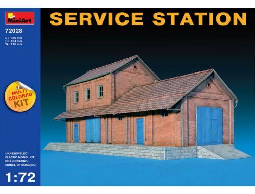 Miniart Service Station 1:72 (72028)