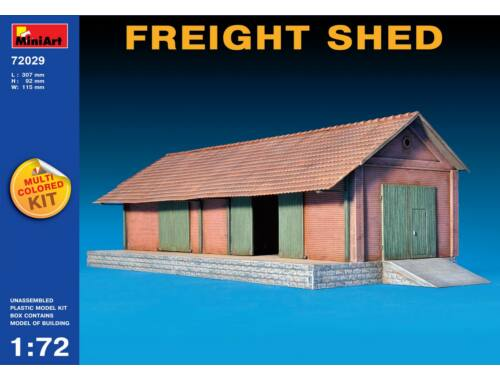 Miniart Freight Shed 1:72 (72029)