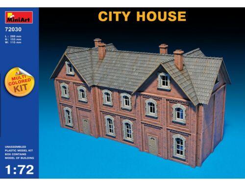 Miniart City House 1:72 (72030)