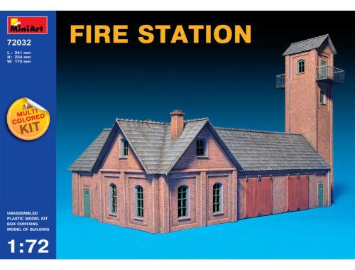 Miniart Fire Station 1:72 (72032)