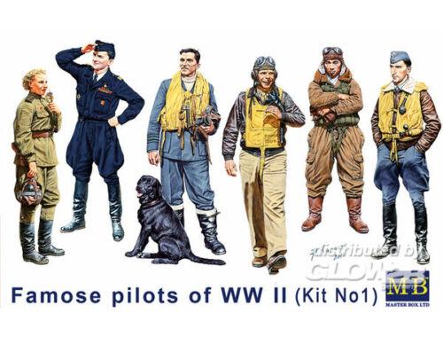 Master Box Famous WWII pilots set 1:32 (3201)