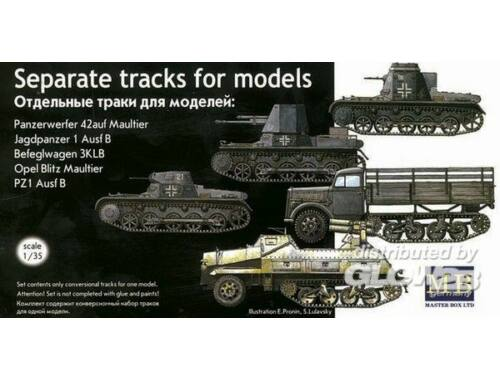 Master Box Separate Tracks for Pz. and Maultier 1:35 (3505)