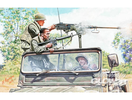 Master Box Charlie on the left!!! Vietnam war kit 1:35 (35105)