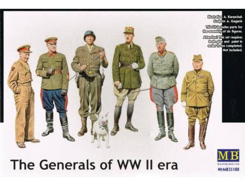Master Box The Generals of WWII 1:35 (35108)