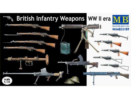 Master Box British infantry weapons, WWII era 1:35 (35109)