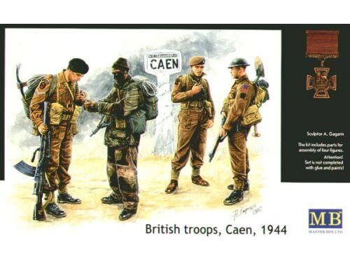 Master Box Britische Truppen Caen 1944 1:35 (3512)