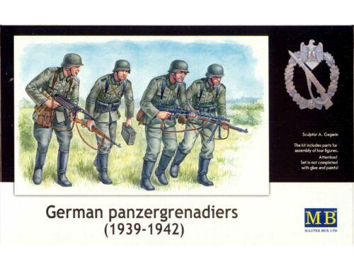 Master Box Deutsche Panzergrenadiere 1939-42 1:35 (3513)