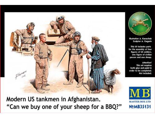 Master Box Modern U.S. tankmen in Afghanistan 1:35 (35131)