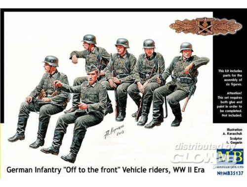 Master Box German infantry vehicle riders 1:35 (35137)