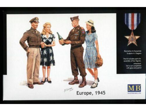 Master Box V-Day Europe 1945 1:35 (3514)