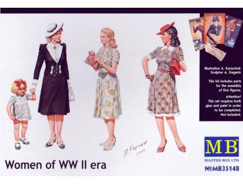 Master Box Women of WWII 1:35 (35148)