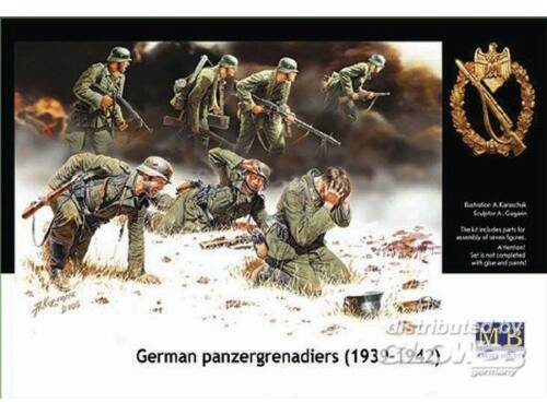 Master Box Deutsche Panzergrenadiere 1939-1942 1:35 (3518)