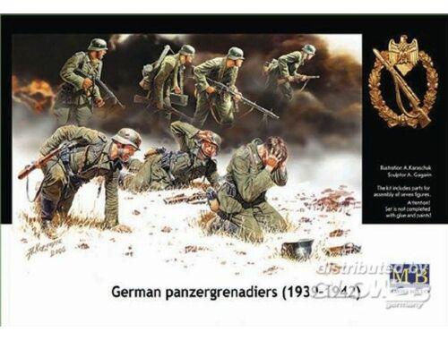 Master Box Deutsche Panzergrenadiere 1939-1942 1:35 (3518)