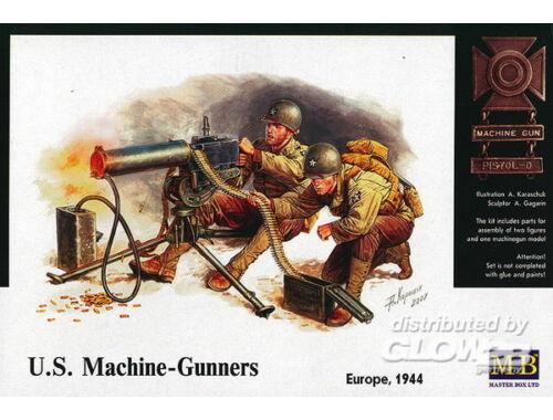 Master Box U.S. Machine-Gunners Europe 1944 1:35 (3519)