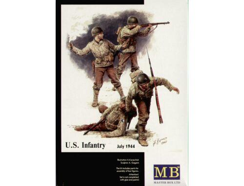 Master Box US Infantry 1944-45 1:35 (3521)