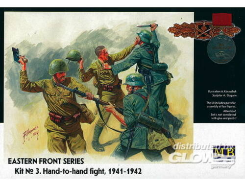 Master Box Hand to Hand Fight 1941-1942 Eastern Front Series 1:35 (3524)