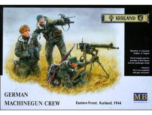 Master Box German Machinegun Crew Eastern Front Kurland 1944 1:35 (3526)