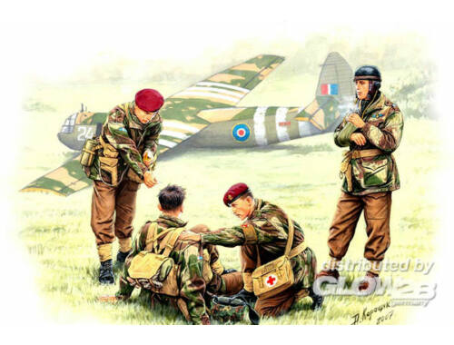 Master Box British Paratroopers WWII Rigid Landing Operation Market Garden 1944 1:35 (3534)