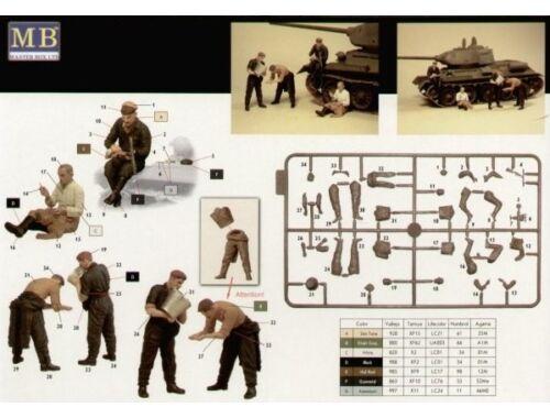 Master Box Russian Tankmen 1943-1944 1:35 (3535)