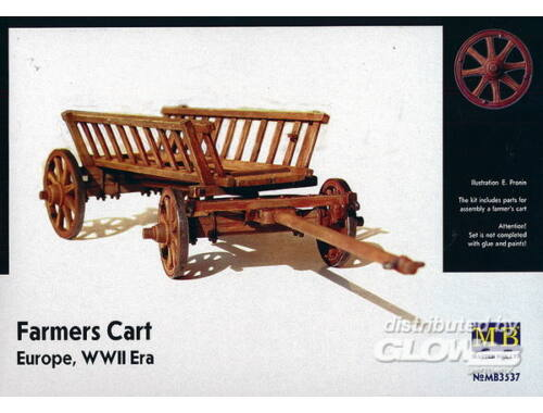 Master Box Farmers Cart Europe WWII 1:35 (3537)