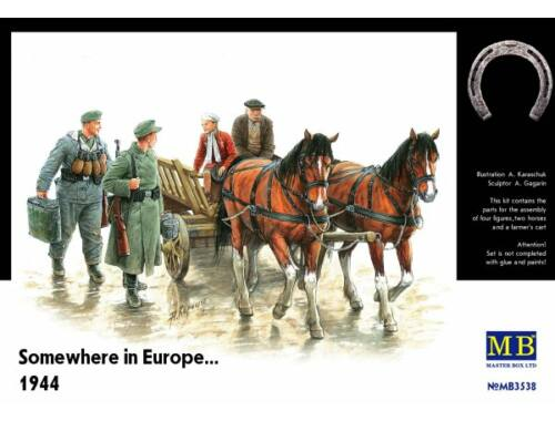 Master Box Somewhere in Europe 1944 1:35 (3538)