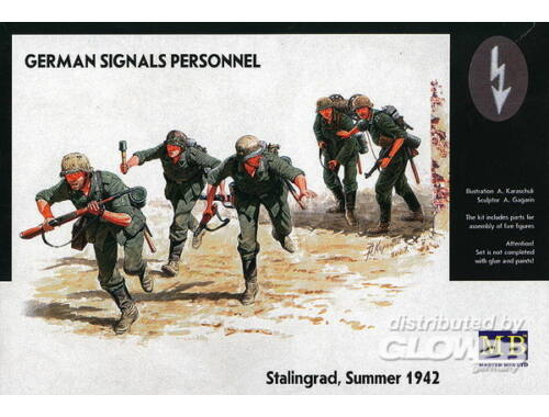 Master Box German Signals Personnel Stalingrad Summer 1942 1:35 (3540)