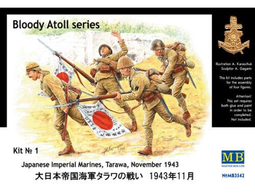 Master Box Jap. Special Naval Landing Force Tarawa 1:35 (3542)
