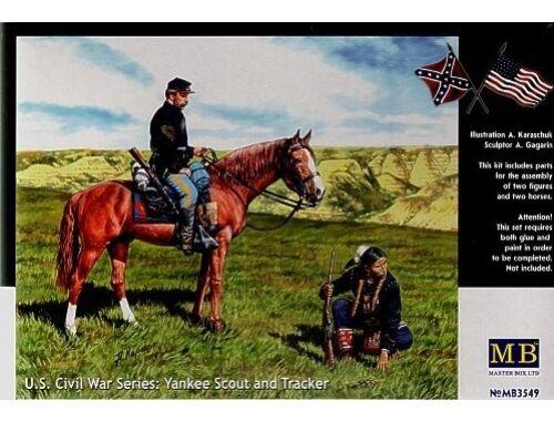 Master Box Yankee Scout and Tracker, U.S. Civil War 1:35 (3549)