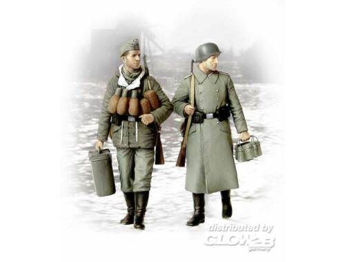 Master Box Supplies! german soldiers 2 figs 1:35 (3553)