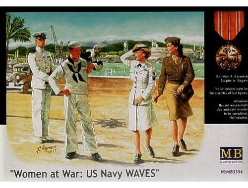 Master Box Woman at war: US Navy WAVES 1:35 (3556)