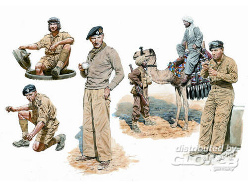 Master Box British armored troops Africa 1:35 (3564)