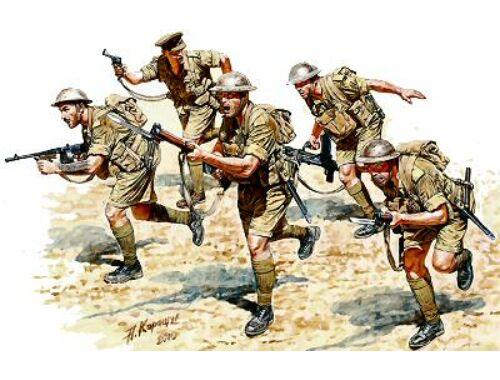 Master Box British Infantry North Africa Desert 1:35 (3580)