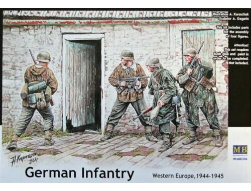 Master Box German Infantry, Western Europe, 1944-45 1:35 (3584)