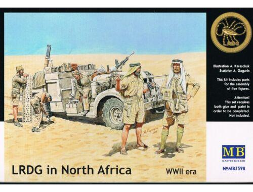 Master Box LRDG in Northern Africa 1:35 (3598)