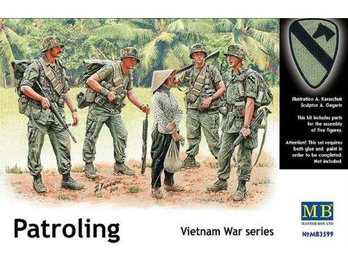 Master Box Patroling, Vietnam 1:35 (3599)