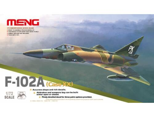 Meng F-102A (Case XX) 1:72 (DS-005)