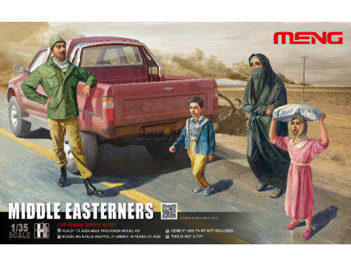 Meng Middle Easterns in the Street 1:35 (HS-001)