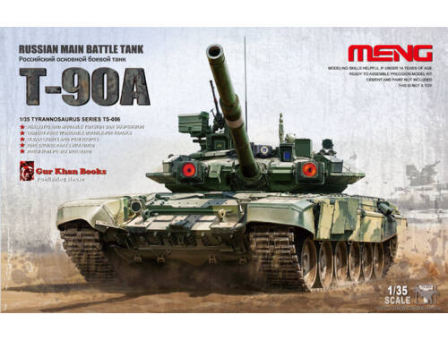 Meng Russian Main Battle Tank T-90A 1:35 (TS-006)