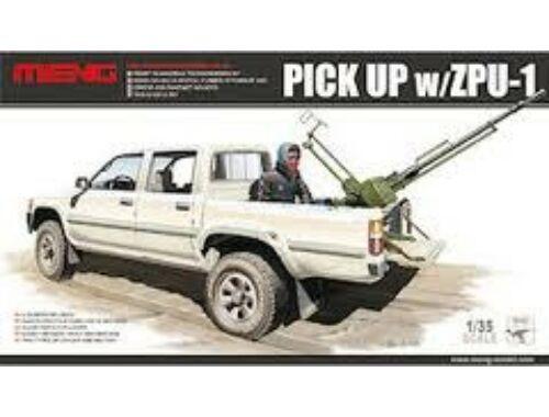 Meng Pick UP w/ZPU-1 1:35 (VS-001)