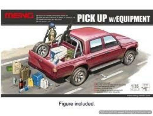 Meng Pick Up w/Equipment 1:35 (VS-002)