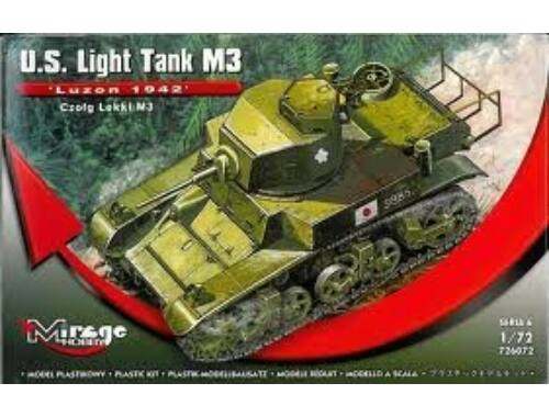 "Mirage Hobby U.S. Light Tank M3 ""Luzon 1942"" 1:72 (726072)"