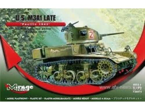 """Mirage Hobby U.S. M3A1 Late """"Pacific 1943"""" 1:72 (726075)"""