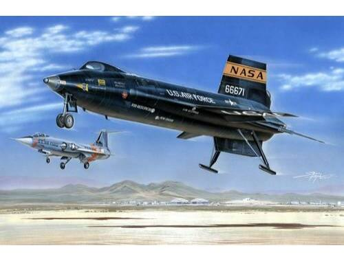 MPM X-15A-2 ''Hypersonic Shuttle'' 1:72 (72532)