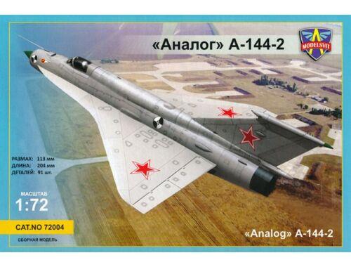 Modelsvit MiG-21i second prototype(Analog A-144-2) 1:72 (72004)
