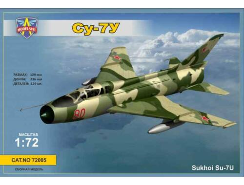 Modelsvit Sukhoi Su-7U (Trainer) 1:72 (72005)