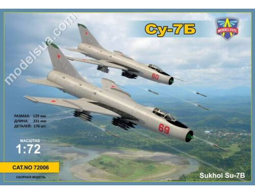 Modelsvit Sukhoi Su-7B 1:72 (72006)