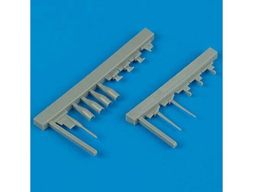 Quickboost MIG-29A sensing units für Academy Bausatz 1:48 (48118)