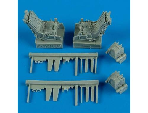 Quickboost Su-27UB ejection seats w.safety belts 1:48 (48488)