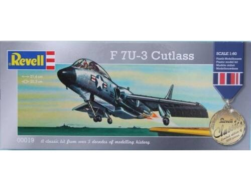 Revell F 7U-3 Cutlass (Limited Edition) 1:60 (0019)
